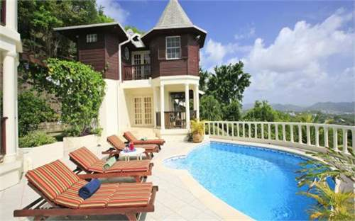 Chalet, St Lucia